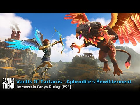 Vaults Of Tartaros In 4k - Aphrodite's Bewilderment - Immortals Fenyx Rising - PS5 [Gaming Trend]