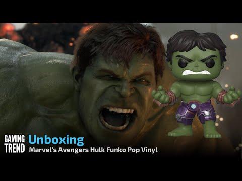 Marvel's Avengers Game Hulk Pop Vinyl Unboxing [Gaming Trend]