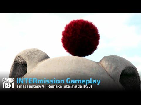 Final Fantasy VII Remake Intergrade INTERmission Gameplay - PS5 [Gaming Trend]
