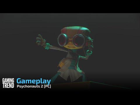 Psychonauts 2 Gameplay Part 1 - PC [Gaming Trend]