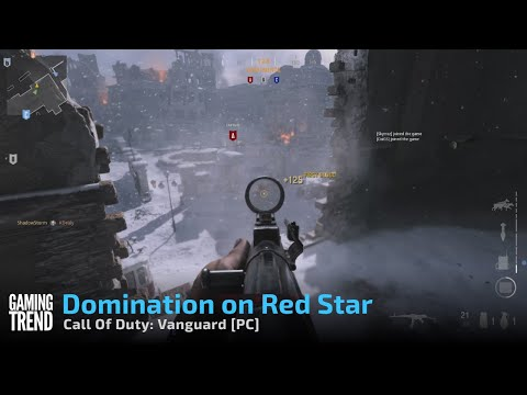 Call Of Duty: Vanguard - Domination on Red Star - [PC] [Gaming Trend]