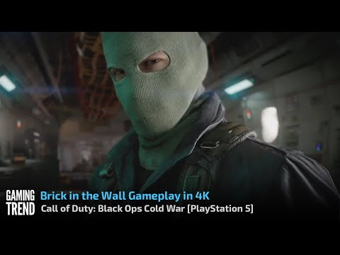 Call of Duty: Black Ops Cold War - Brick in the Wall 4K on PlayStation 5 [Gaming Trend]