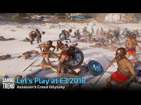 Assassin's Creed Odyssey - Conquest Battle- E3 2018 preview