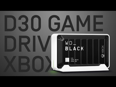 WD_BLACK™ D30 Game Drive SSD for Xbox| Official Product Overview