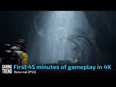 Returnal - First 45 minutes of gameplay in 4K - PS5 [Gaming Trend]