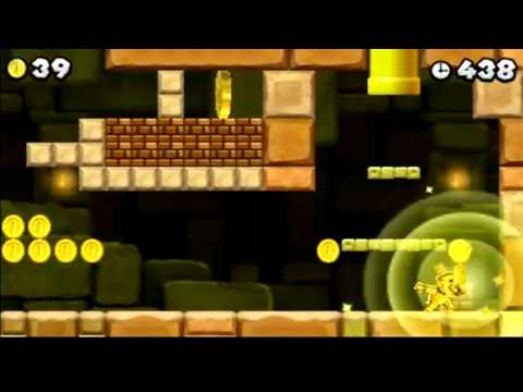 New Super Mario Bros 2 E3 Single Player Demo