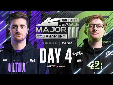 Call Of Duty League 2021 Season | Stage III Major Tournament | Day 4