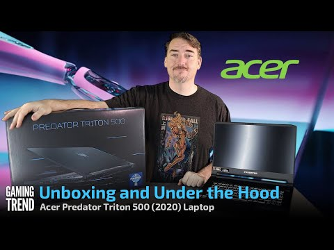Acer Predator Triton 500 (2020) Unboxing - [Gaming Trend]