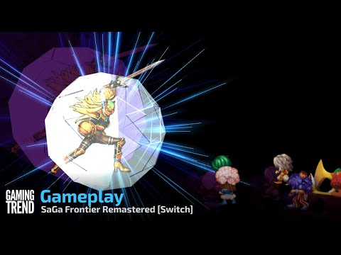 SaGa Frontier Remastered Gameplay - Switch [Gaming Trend]