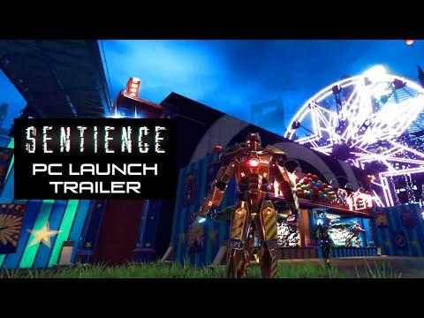 Sentience: PC Launch Trailer