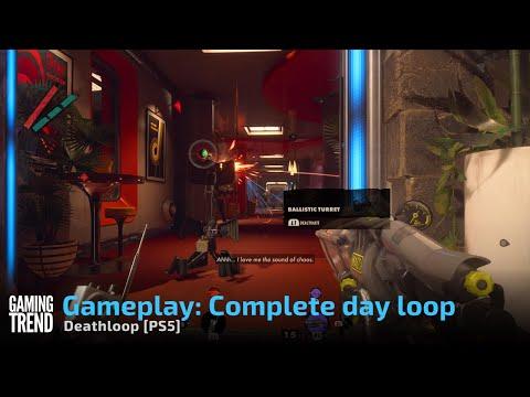 Deathloop Gameplay: Complete day loop - PS5 [Gaming Trend]