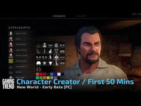 New World Character Creator and First 50 Minutes - PC [Gaming Trend]