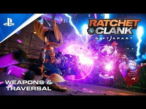 Ratchet & Clank: Rift Apart - Weapons & Traversal   PS5