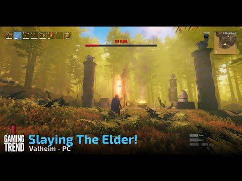 Slaying The Elder - Valheim - PC - [Gaming Trend]