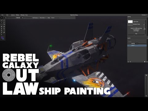 Rebel Galaxy Outlaw Ship Painting Tool