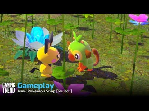 New Pokémon Snap Gameplay - – Switch [Gaming Trend]
