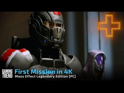Mass Effect Legendary Edition First Mission in 4K - PC [Gaming Trend]