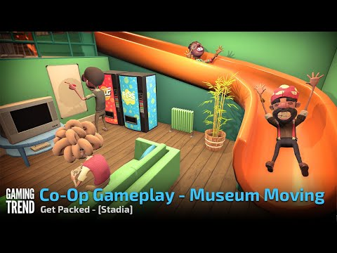 Get Packed - Museum Move Gameplay - Stadia [Gaming Trend]