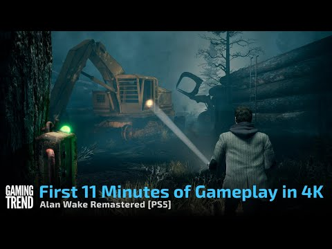 Alan Wake Remastered First 11 Minutes of Gameplay in 4K PS5 Gaming Trend
