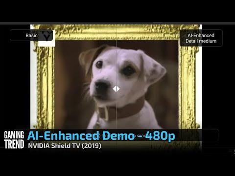 NVIDIA Shield - AI-Enhanced Demo - 480p [Gaming Trend]