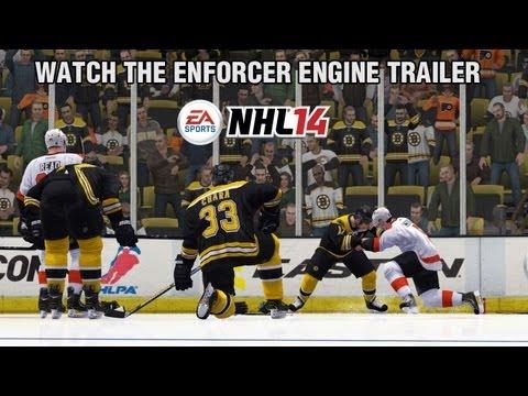 NHL 14 Enforcer Engine Gameplay Trailer