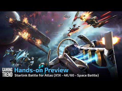 Starlink Battle for Atlas - Let's Play Preview - Space Battle - 4K Xbox One X [Gaming Trend]