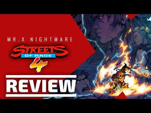 Streets of Rage 4: Mr. X Nightmare DLC Review