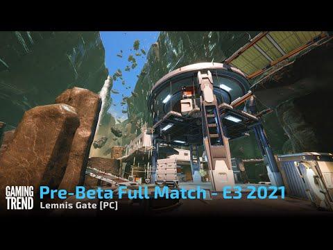 Lemnis Gate Alpha Hands on - Full Match Gameplay - E3 2021 [PC]
