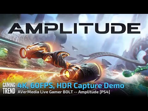 AVerMedia Live Gamer BOLT - 4K60 HDR Capture Demo - Amplitude - PS4 Pro [Gaming Trend]