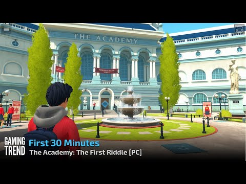 The Academy: The First Riddle - First 30 Minutes Gameplay - PC [Gaming Trend]
