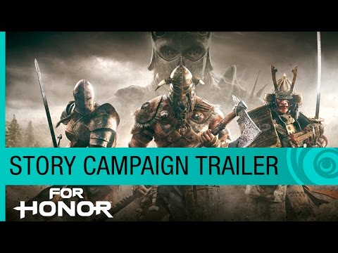 For Honor Trailer: Story Campaign Cinematic (4K) - E3 2016 Official [NA]