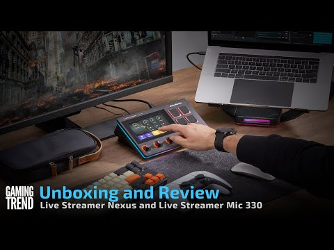 AVerMedia Live Streamer Nexus and Live Streamer Mic 330 Unboxing and Review [Gaming Trend]