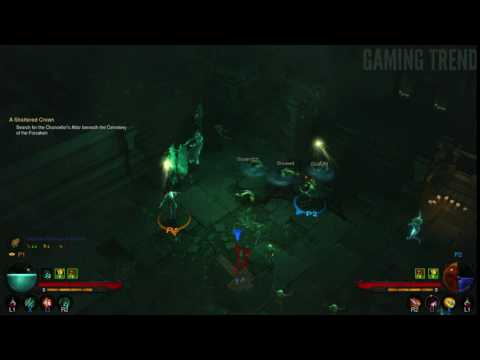 Diablo III - Necromancer run to Skeleton King - PS4 [Gaming Trend]
