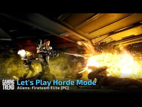 Aliens: Fireteam Elite - Horde Mode Let's Play [Gaming Trend]