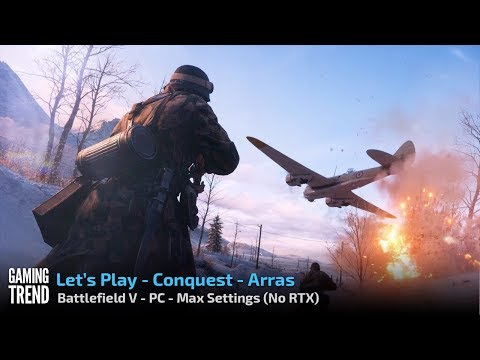 Battlefield V - Conquest - Arras - PC - [Gaming Trend]