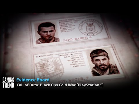 Call of Duty: Black Ops Cold War - Evidence Board on PlayStation 5 [Gaming Trend]