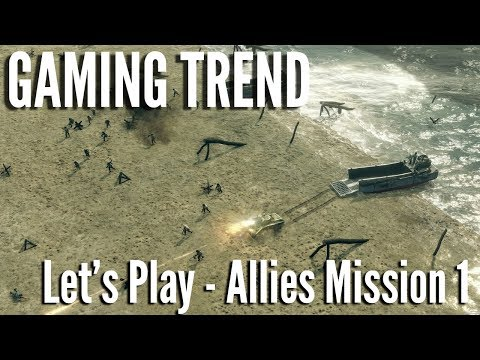 Sudden Strike - Let's Play - Allied Mission 1 on PC - [Gaming Trend]