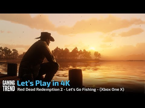 Red Dead Redemption - Let's Play in 4K - Let's Fish - [Gaming Trend]