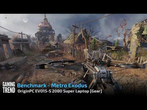 OriginPC EVO-15S - Metro Exodus Benchmark [Gaming Trend]