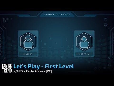 //HEX The Bank Hacking Game – Early Access Let's Play - First Level Video [Gaming Trend]