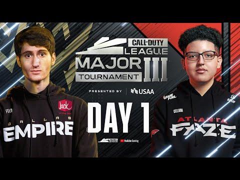 Call Of Duty League 2021 Season | Stage III Major Tournament | Day 1