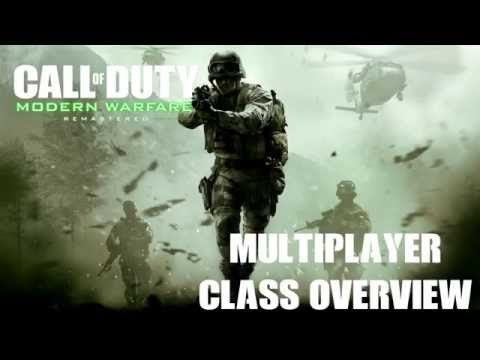 Call of Duty Modern Warfare Remastered - Class Overview [Gaming Trend]