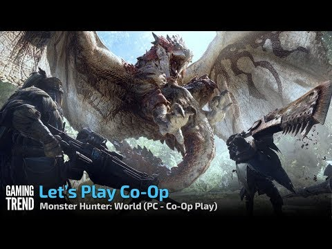 Monster Hunter: World - Co-Op - Setup and Let's Play [Gaming Trend]