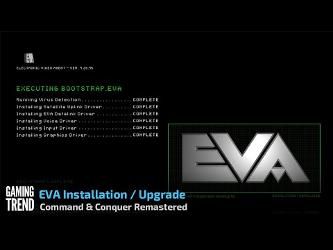Command & Conquer Remastered - EVA Install in 4K [Gaming Trend]