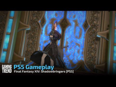 Final Fantasy XIV: Shadowbringers PS5 Gameplay (No Spoilers) - [Gaming Trend]