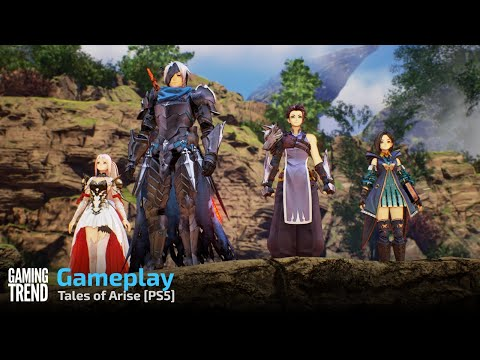 Tales of Arise Gameplay - PS5 [Gaming Trend]