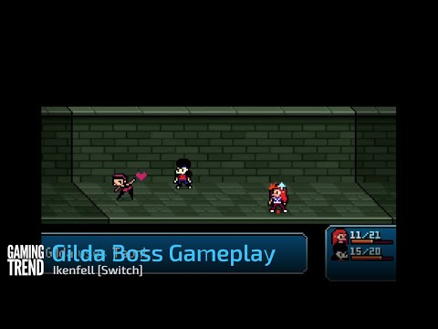 Ikenfell Gilda Boss Gameplay- Switch [Gaming Trend]