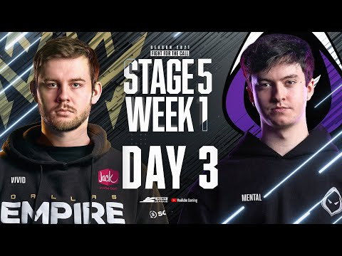 Call Of Duty League 2021 Season | Stage V Week 1 — New York Home Series | Day 3