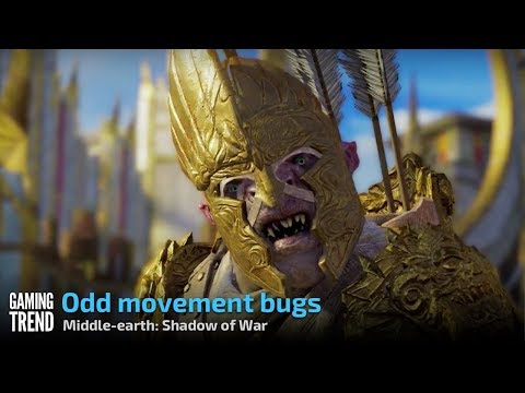 Middle-earth: Shadow of War - Goofy Bugs [Gaming Trend]