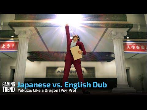 Yakuza: Like a Dragon Sub vs. Dub - PS4 Pro [Gaming Trend]